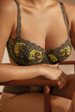 Load image into Gallery viewer, Prima Donna Palace Garden Reptile FW2020 Balcony Moulded Underwire Bra