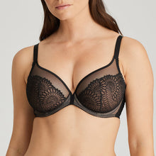 Load image into Gallery viewer, Prima Donna Sophora Black Underwire Deep Plunge Balcony Bra