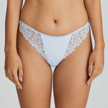 Load image into Gallery viewer, Prima Donna Deauville SS20 Matching Thong in Heather Blue