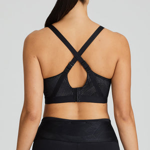 Prima Donna Sports SS20 The Game Black Non-Padded Convertible Underwire Sports Bra
