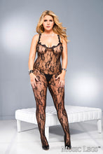 Load image into Gallery viewer, Music Legs Queen Lace Plus Size Body Stocking