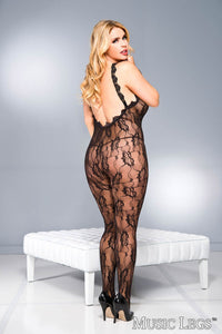 Music Legs Queen Lace Plus Size Body Stocking