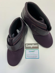 Cosyfeet - Julia, Loganberry (Size 6)