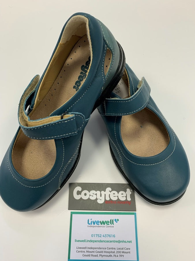 Cosyfeet - Paradise, Teal (Size 3.5)