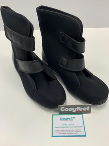 Cosyfeet - Patty, Black (Size 6)
