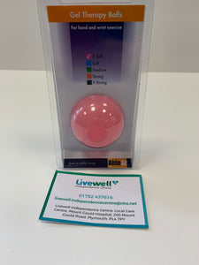 Gel Therapy Ball Pink
