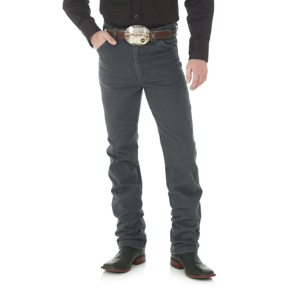 Men's Wrangler Cowboy Cut Slim Jean in Charcoal Gray 936CHG