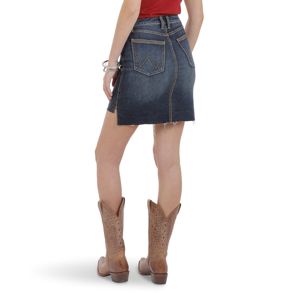 Women's Wrangler Retro Mid-Rise Skirt