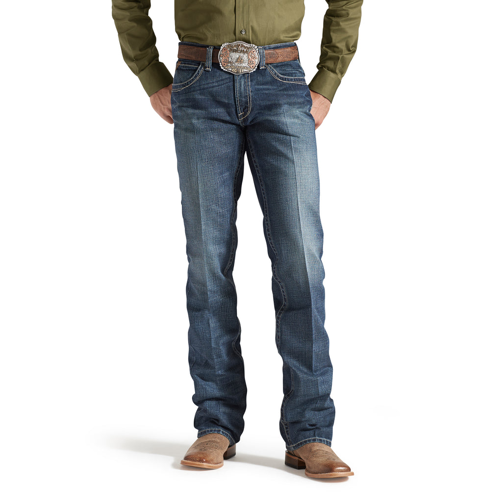 Men's Ariat M5 Slim Boundary Stackable Straight Leg Jean