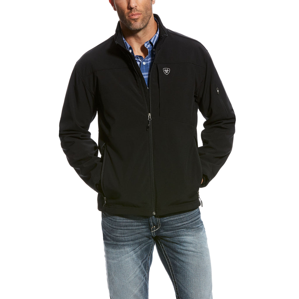 Men's Black Vernon 2.0 Softshell Jacket
