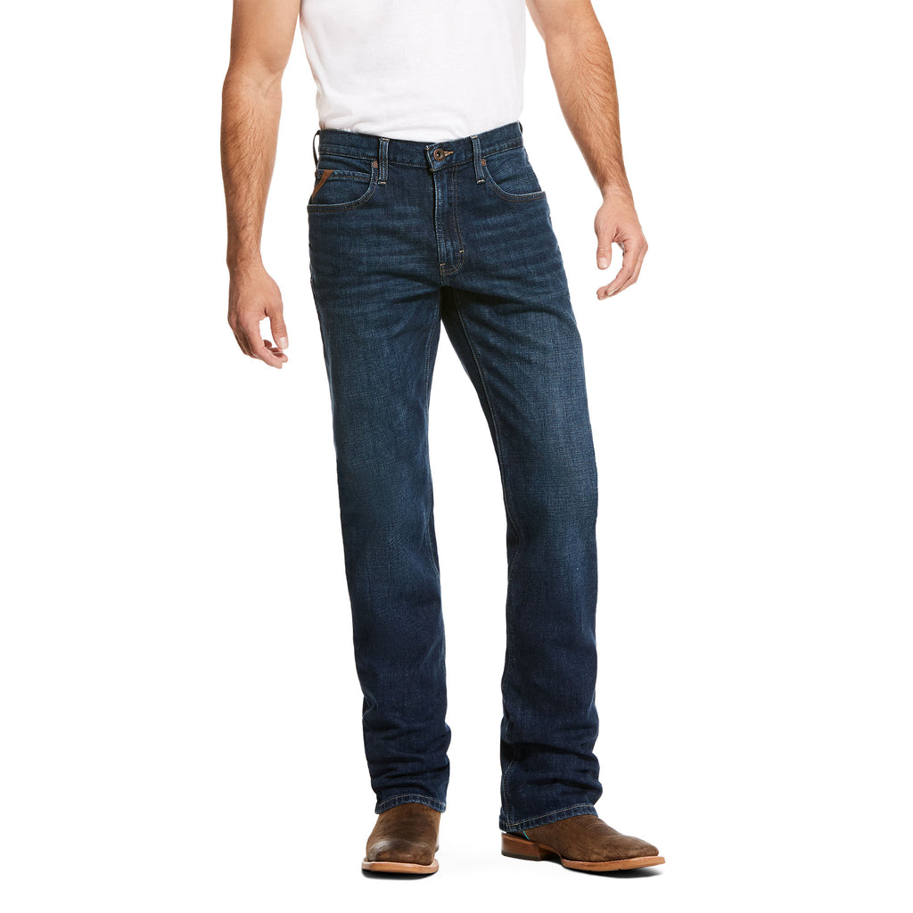 Men's Ariat M1 Vintage Stretch Legacy Stackable Straight Leg Jean