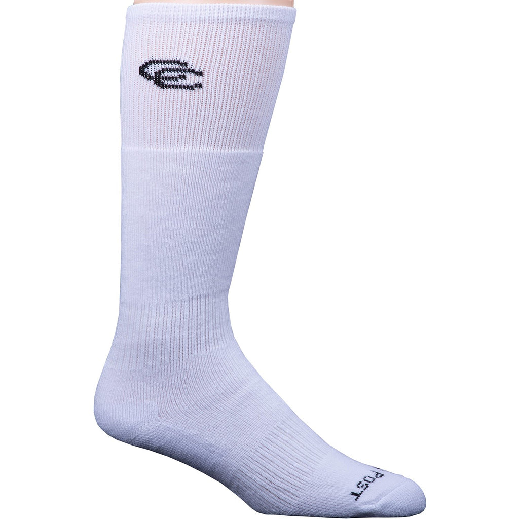 Men's Dan Post White Over The Calf Sock