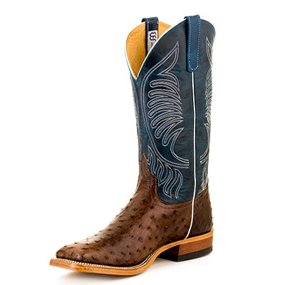 Men's Anderson Bean S3004 Kango Tabac Mad Dog Full Quill Ostrich