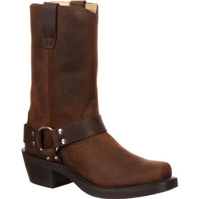 Women's Durango Brown Harness Boot