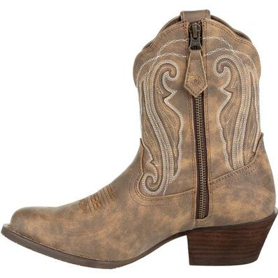 Women's Durango Distressed Shortie Western Boot