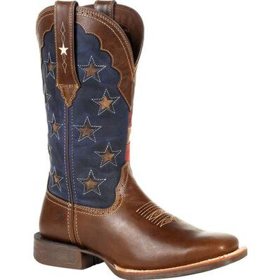 Durango lady Rebel Pro Vintage Flag Western Boot