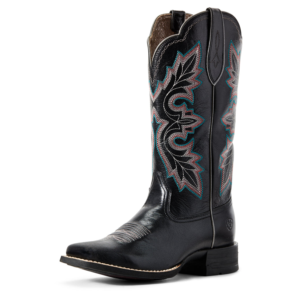 Women's Ariat Black Jackal Breakout Western Boot