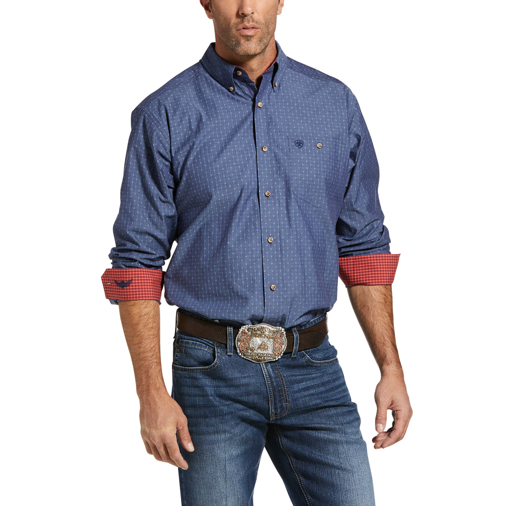 Mens Relentless Remarkable Stretch Classic Fit Shirt