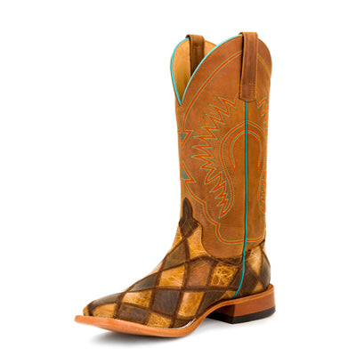Mens Horse Power HP-1053 Crazy Train Patchwork Boots