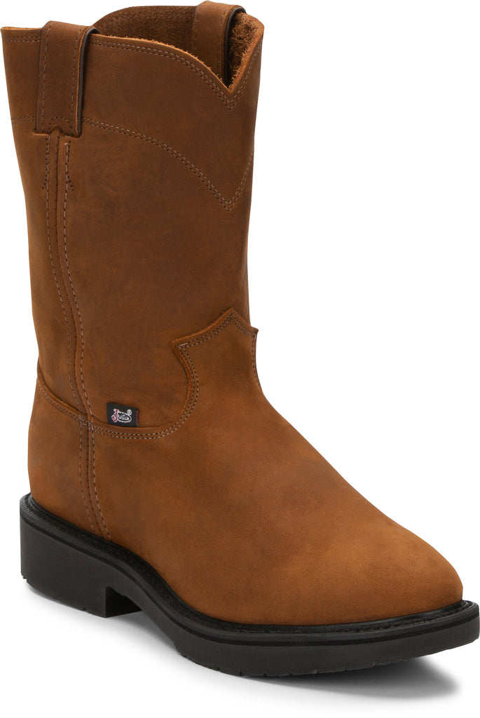 Mens Justin Orignal 4760 Pull On Work Boot