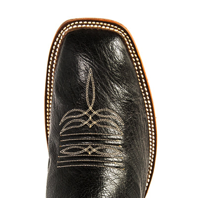 Men's Rios of Mercedes R9004 Black Smooth Quill Ostrich