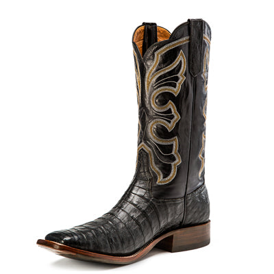Men's Rios of Mercedes R9019 Black Caiman Belly