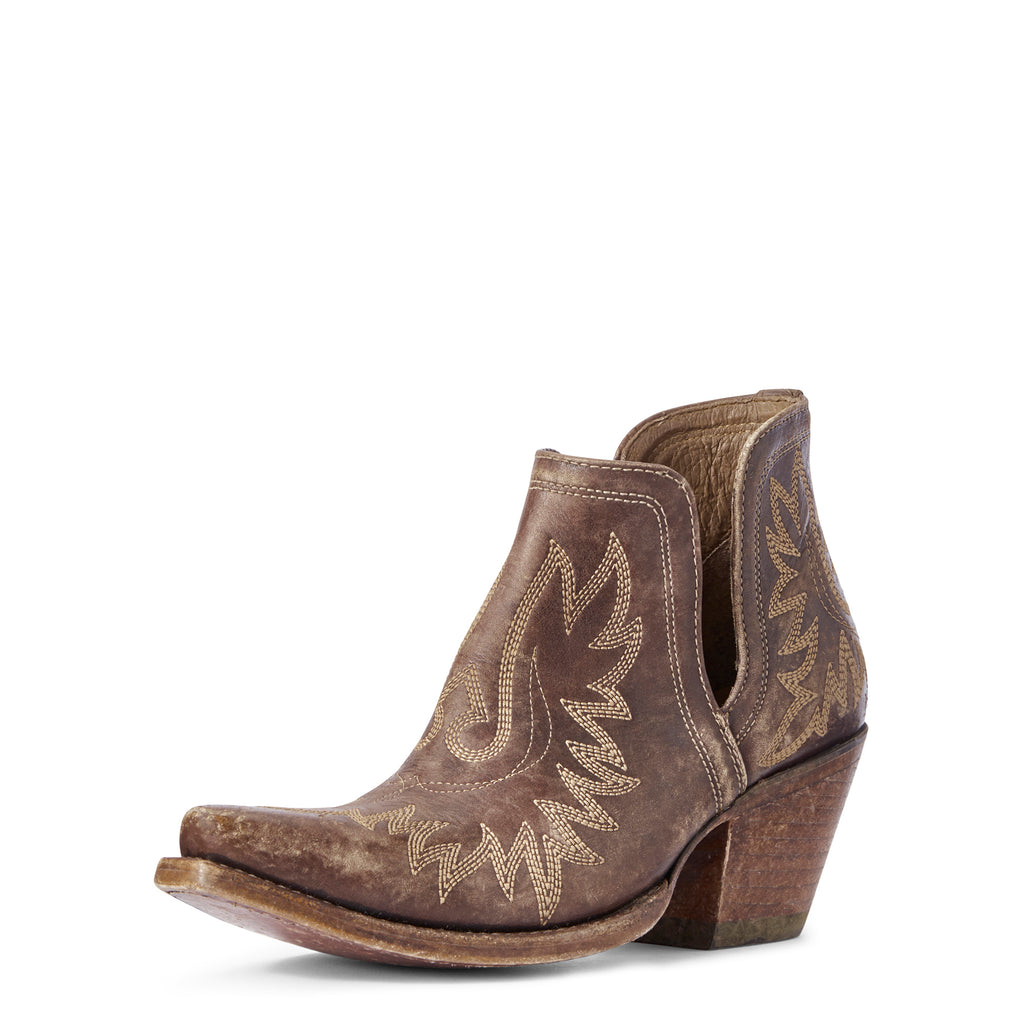Women's Ariat Dixon Naturally Distressed Brown Western Boot