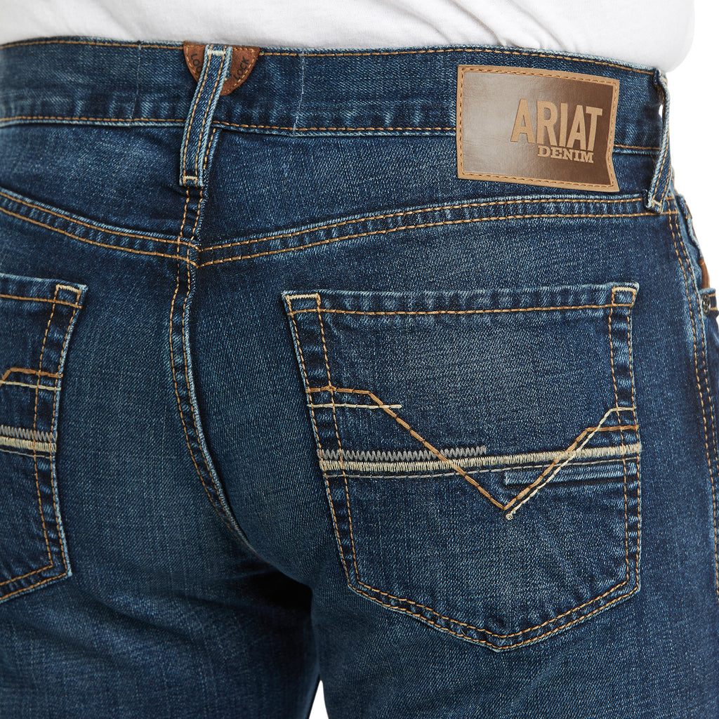 Men's Ariat M8 Modern Stretch Rial Straight Jean - 10034674
