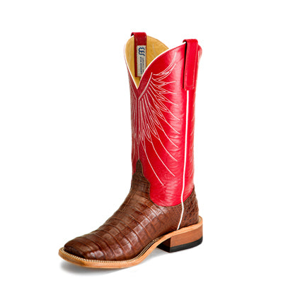 Men's Anderson Bean S3014 Tobacco Caiman Belly