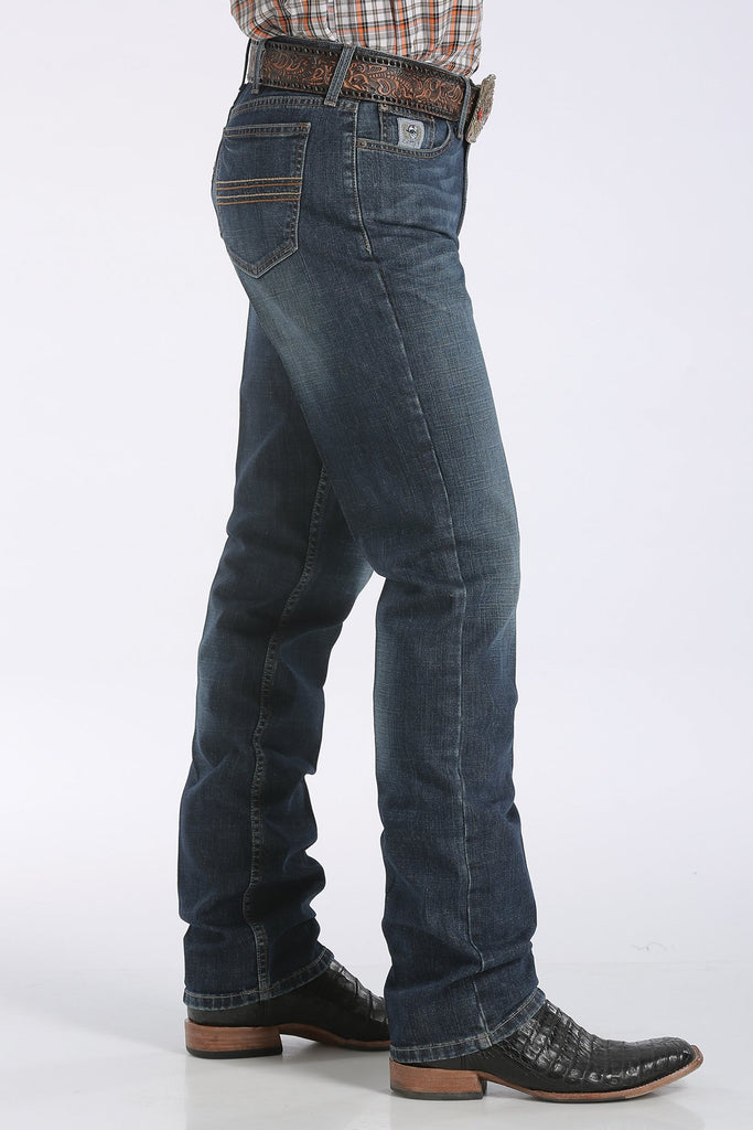 Men's CINCH Silver Label Dark Stonewash - MB98034006
