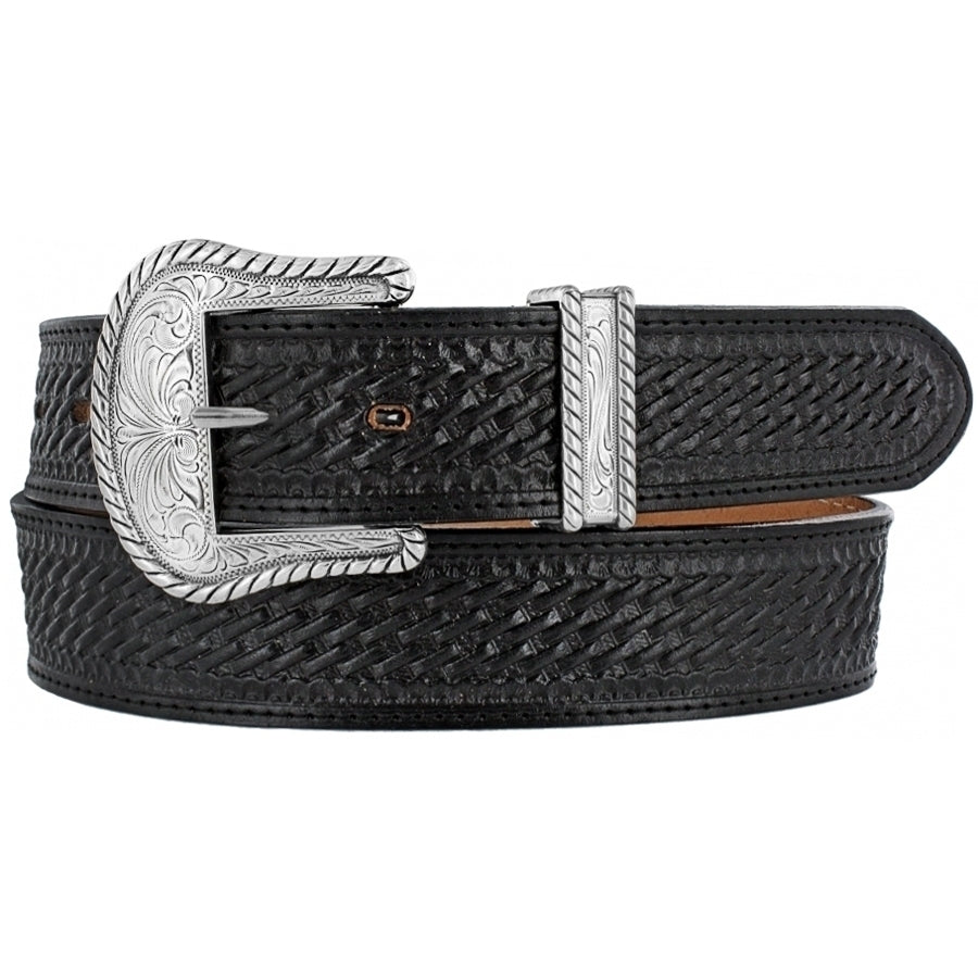 Justin Black Bronco Belt