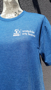 50th Anniversary Scottsdale Arts Festival Navy Tee