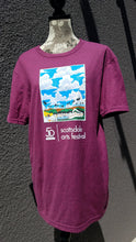 Load image into Gallery viewer, 50th Anniversary Arts Festival Tee in Periwinkle or Burgundy