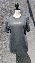 Load image into Gallery viewer, MNMLST Tee in Vintage Black