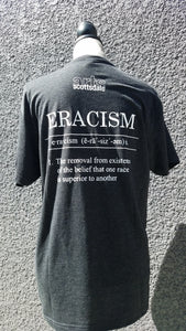 Eracism Tee in Vintage Black