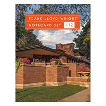 Load image into Gallery viewer, Frank Lloyd Wright Portfolio Notecards