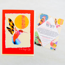Load image into Gallery viewer, Hummingbird Greeting Card