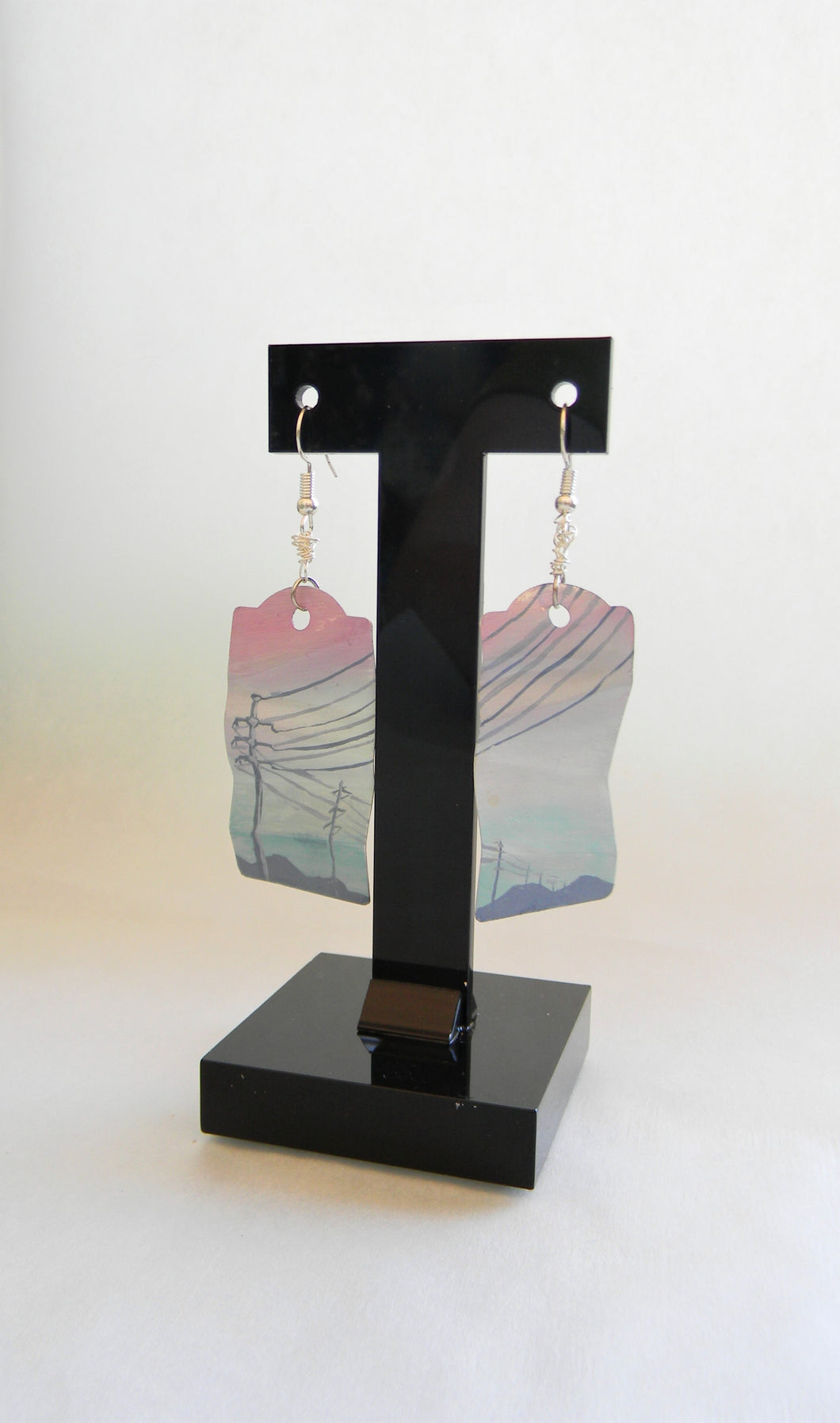 Electrical Pole Earring