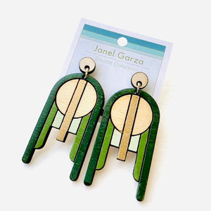 Saguaro Wood Earrings