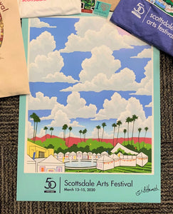 Unsigned 50th Anniversary Scottsdale Arts Festival