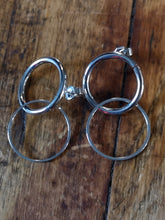 Load image into Gallery viewer, Madeleine small metal hoops