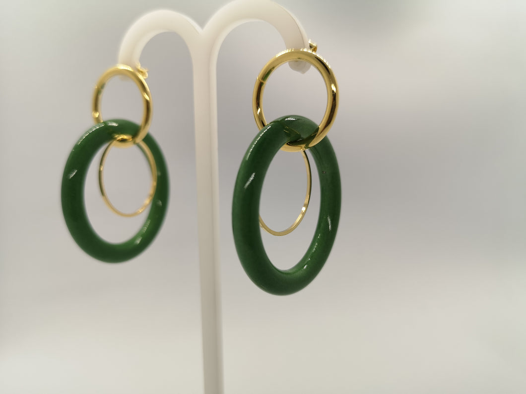 Lucille double hoops