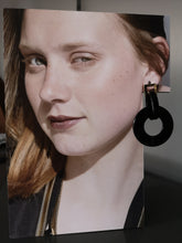Load image into Gallery viewer, Rhonda flat resine hoops