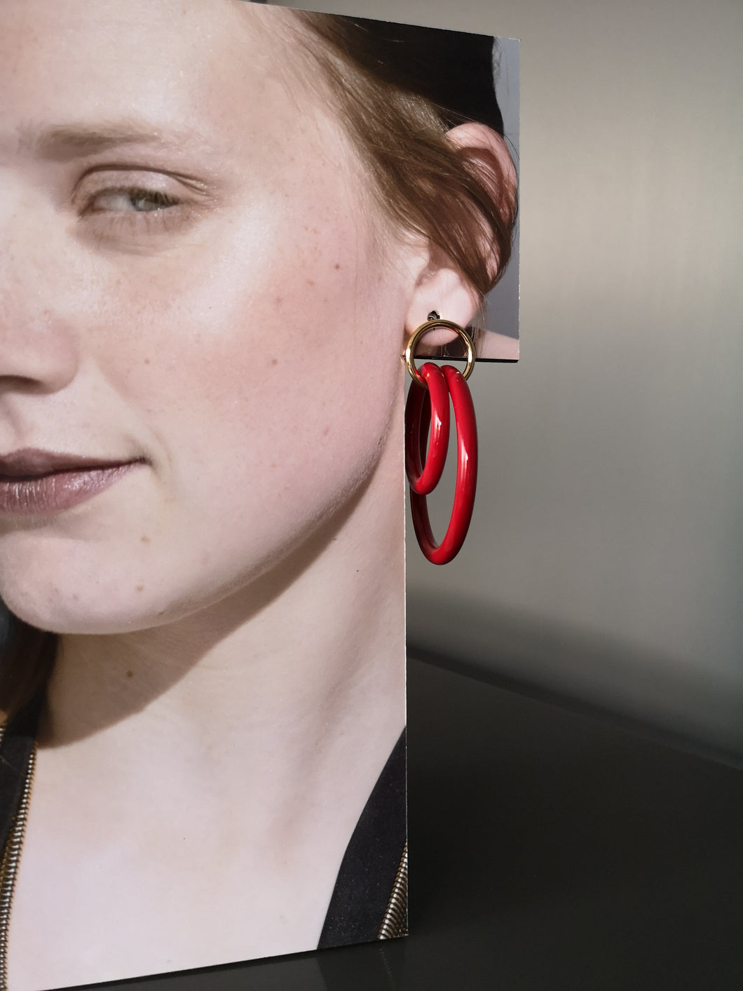 Alexandra double hoops
