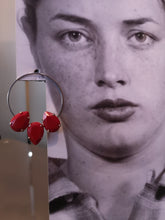 Load image into Gallery viewer, Livia earrings with 3 classic crystals