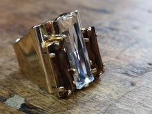 Load image into Gallery viewer, Debbie 3 crystal ring