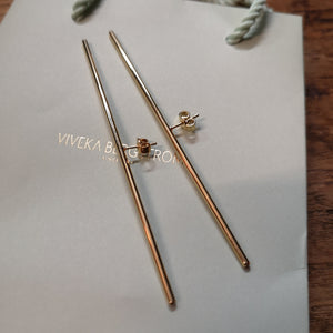 Nålen, 95 mm stick earrings