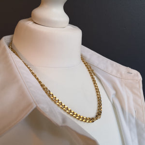 Mariah curb chain necklace