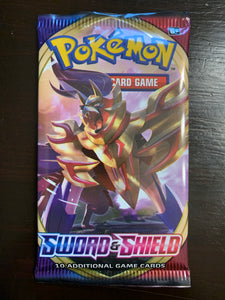 Pokemon: Sword & Shield booster pack