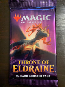 Magic the Gathering: Throne of Eldraine booster pack